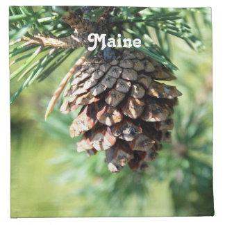 Maine White Pine Servilletas