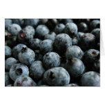 Maine wild blueberries notecard