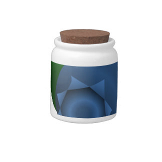Maine Wild Blueberry Candy Jars