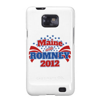 Maine with Romney 2012 Samsung Galaxy S2 Cover