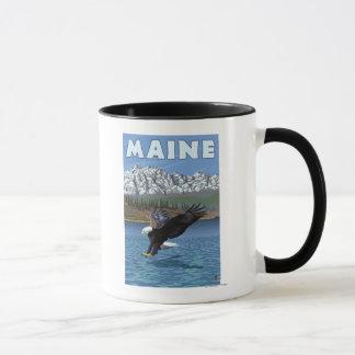 MaineEagle Fishing Mug
