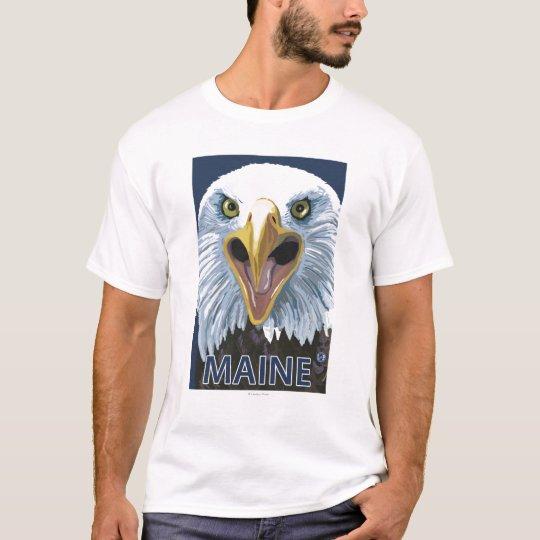 MaineEagle Up Close T-Shirt
