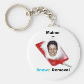 Mainer for Snowe Removal Keychain