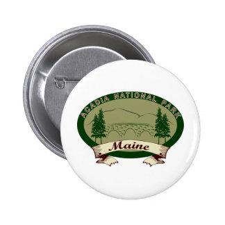 Maine's Acadia National Park Pinback Button