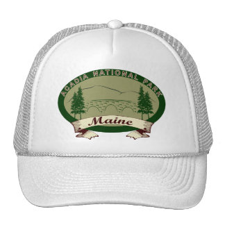 Maine's Acadia National Park Mesh Hats