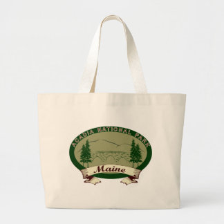 Maine's Acadia National Park Large Tote Bag