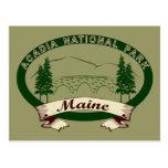 Maine's Acadia National Park Post Card
