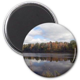 Maine's Beauty 2 Inch Round Magnet
