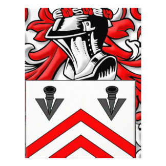 Maines Coat of Arms Letterhead Design
