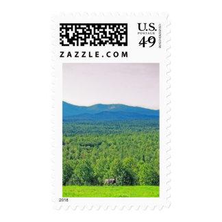 Maine's Mount Katahdin Postage Stamps