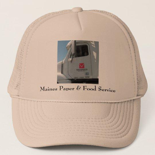 Maines Paper & Food Service Trucker Hat | Zazzle.com