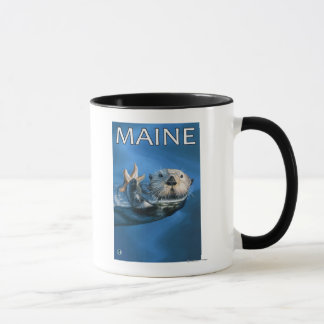 MaineSea Otter Scene Mug