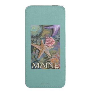 MaineTidepool Scene iPhone 5 Pouch