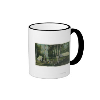 MaineView of a Campground in the Maine Woods Mug