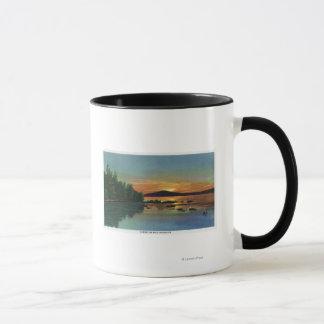 MaineView of a Sunset on Bald Mountain Mug