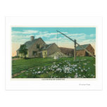 MaineView of an Old New England Homestead Postcards