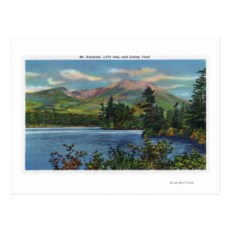 MaineView of Mount Katahdin and Daicey Pond Postcard