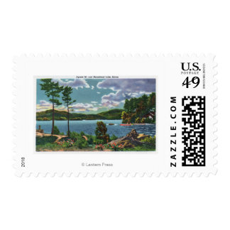 MaineView of Squaw Mountain and Moosehead Lake Postage