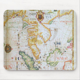 Mainland Southeast Asia, detail from world atlas Mouse Pad