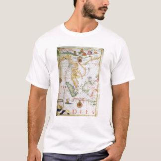 Mainland Southeast Asia, detail from world atlas T-Shirt