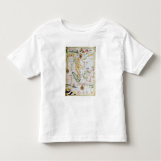 Mainland Southeast Asia, detail from world atlas Toddler T-shirt