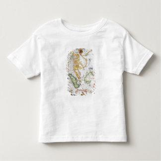Mainland Southeast Asia, detail from world atlas Toddler T-shirt