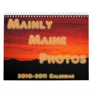 Mainly Maine Photos Calendar