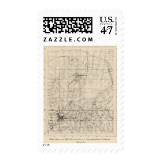 Mainroute, meandros del lado, estaciones sellos postales