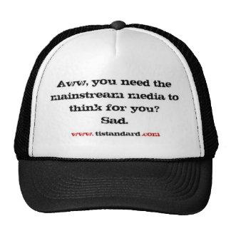 Mainstream Media Mesh Hats