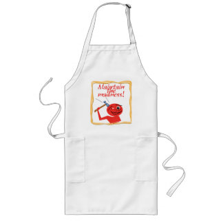 Maintain The Madness Long Apron