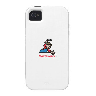 MAINTENANCE VIBE iPhone 4 COVER