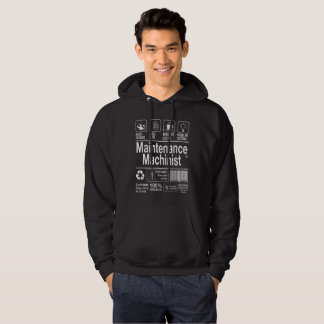 Maintenance Machinist Hoodie