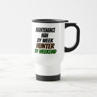 Maintenance Man Hunter 15 Oz Stainless Steel Travel Mug