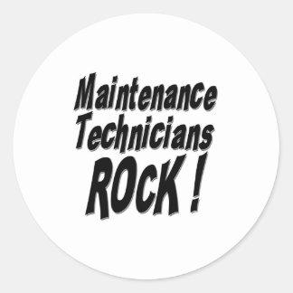 Maintenance Technicians Rock! Sticker