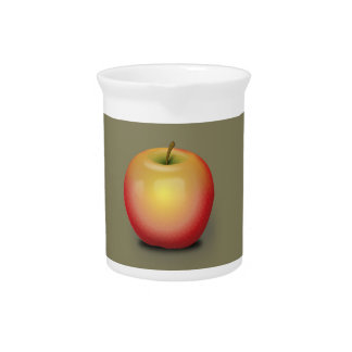 Maintosh Apple Beverage Pitcher