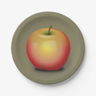 Maintosh Apple Paper Plate