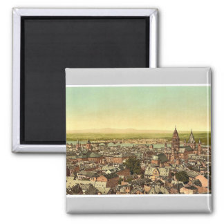 Mainz, towards the Rhine, the Rhine, Germany magni Magnet