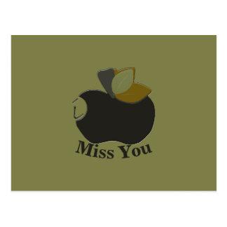 Maire Black Apple Postcard