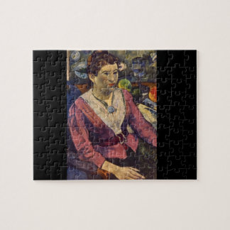 Maire Henry', Paul Gauguin'_Impressionists Jigsaw Puzzle
