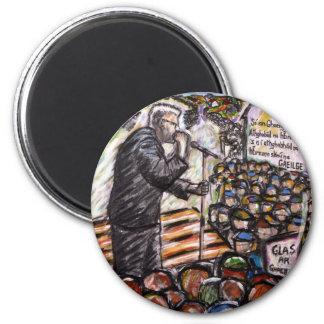 mairtin o cadhain 2 inch round magnet