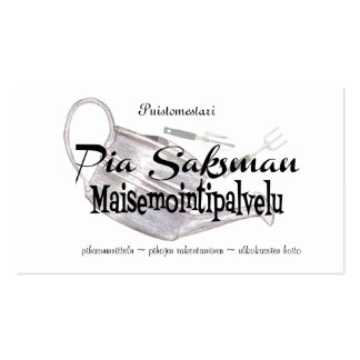 Maisemointipalvelu Double-Sided Standard Business Cards (Pack Of 100)
