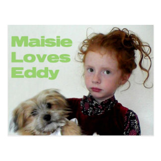 Maisie And Eddy Postcard
