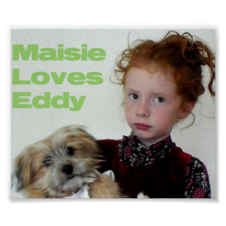Maisie And Eddy Poster