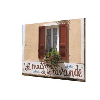 Maison de la Lavande, Place du Couwert, Impresión De Lienzo