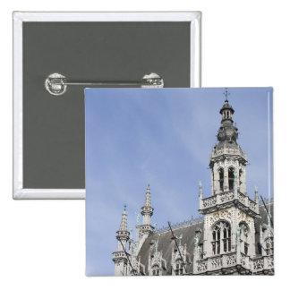 Maison du Roi, Brussels, Belgium Pinback Button