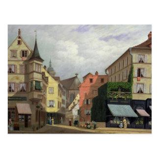Maison Mathieu, Grand-Rue, Colmar, 1876 Postcard