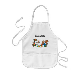 Maisy and Cyril Build a Sand Castle Kids' Apron