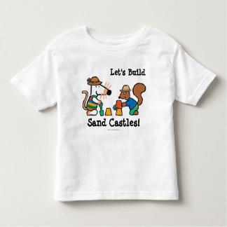 Maisy and Cyril Build a Sand Castle Toddler T-shirt