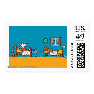 Maisy and Cyril Go on Vacation Scene Postage