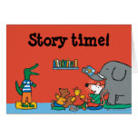 Maisy and Friends Laugh at Story Time Greeting Card